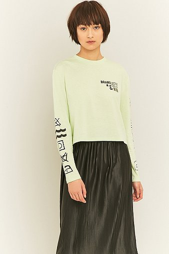 bdg-laundry-long-sleeve-lime-green-t-shirt-womens-m