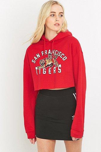 bdg-san-francisco-tigers-cropped-red-hoodie-womens-ml