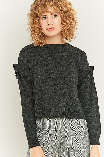 urban-outfitters-ruffle-shoulder-grey-jumper-womens-s
