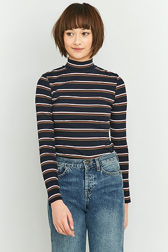 urban-outfitters-navy-striped-turtleneck-womens-s