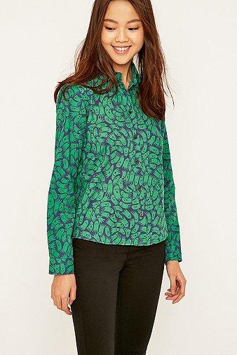 peter-jensen-green-printed-peter-pan-collar-shirt-womens-m
