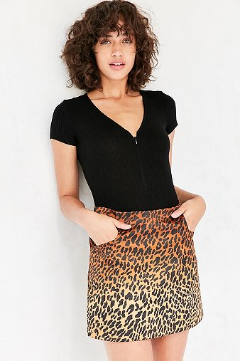 ecote-catness-a-line-mini-skirt-womens-m