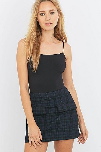 urban-outfitters-scout-navy-tartan-a-line-mini-skirt-womens-m