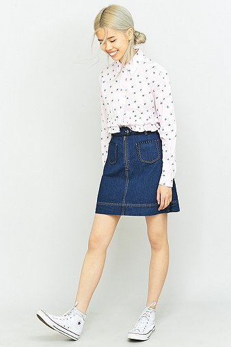 manoush-blue-denim-crochet-mini-skirt-womens-40