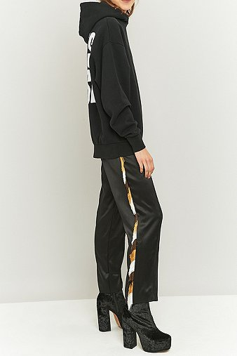 aries-black-silk-fringe-tracksuit-bottoms-womens-m