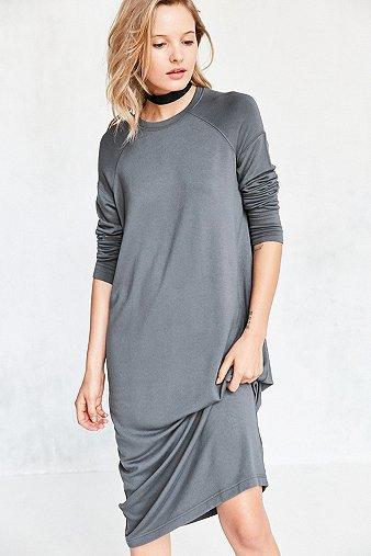 silence-noise-mason-grey-midi-sweatshirt-dress-womens-s