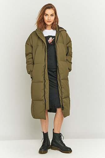 light-before-dark-longline-khaki-puffer-jacket-womens-l