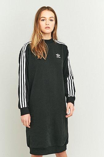 adidas-originals-3-stripe-black-midi-dress-womens-8