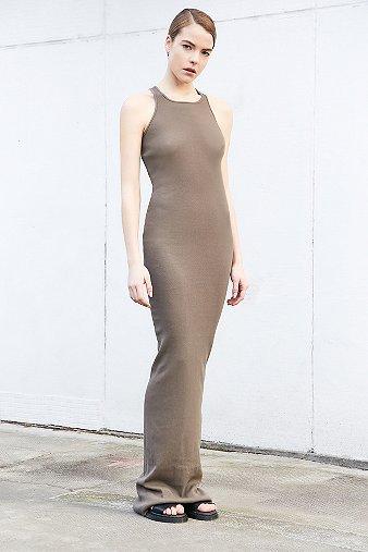 rick-owens-drkshdw-extra-long-brown-ribbed-tank-dress-womens-l