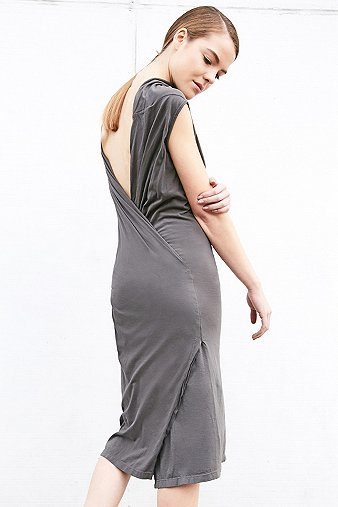 rick-owens-drkshdw-marella-grey-tunic-midi-dress-womens-l