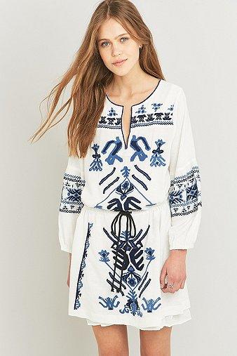 free-people-anouk-embroidered-ivory-mini-dress-womens-m