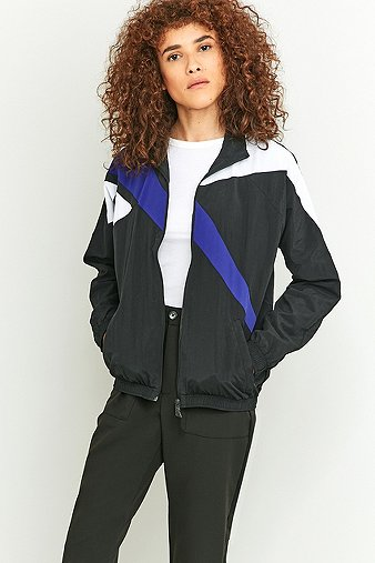 reebok-retro-colour-block-black-zip-jacket-womens-xs