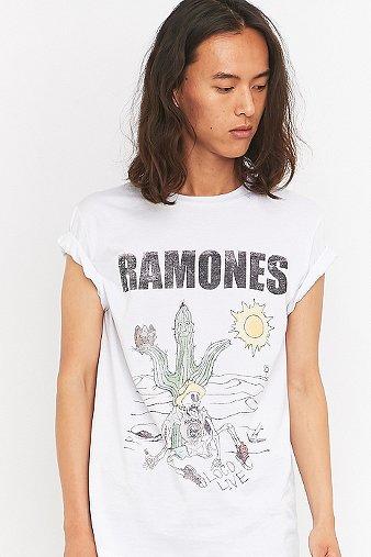 Ramones White Tshirt White