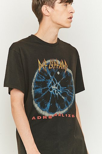 def-leppard-washed-black-t-shirt-mens-l