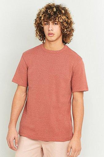 urban-outfitters-red-marl-heavy-rib-t-shirt-mens-m