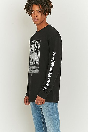 stussy-permanent-vacation-black-long-sleeve-t-shirt-mens-m