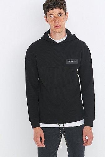 rascals-honeycomb-black-logo-hoodie-mens-m