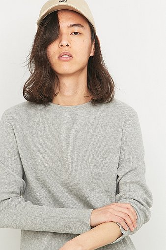 commodity-stock-grey-long-sleeve-waffle-t-shirt-mens-l