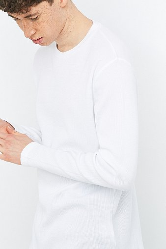 commodity-stock-white-waffle-long-sleeve-t-shirt-mens-l
