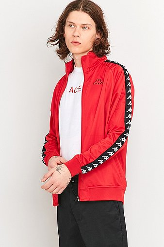 kappa-anniston-red-track-jacket-mens-l