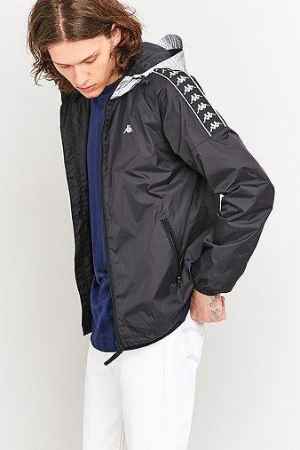 kappa-stirling-black-reflective-jacket-mens-m