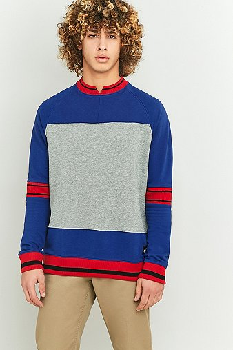 cheap-monday-sprint-blue-red-sweatshirt-mens-m