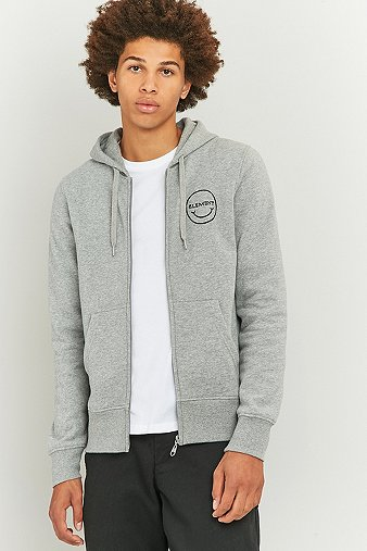 element-mason-mc-fee-grey-zip-hoodie-mens-m