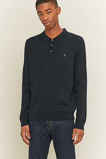 farah-tadley-navy-knitted-polo-shirt-mens-m