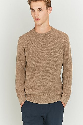 capital-goods-camel-merino-crewneck-jumper-mens-m