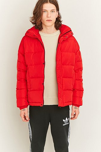 shore-leave-red-zip-puffer-jacket-mens-l