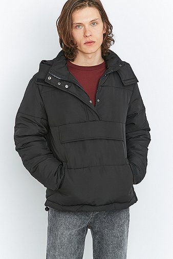 shore-leave-black-overhead-puffer-jacket-mens-l