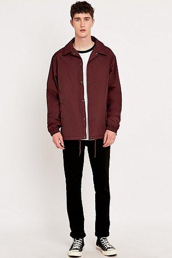 dickies-torrance-maroon-coach-jacket-mens-l