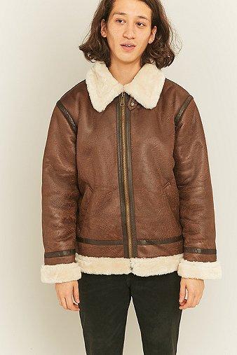 alpha-industries-b3-fl-brown-faux-leather-jacket-mens-m