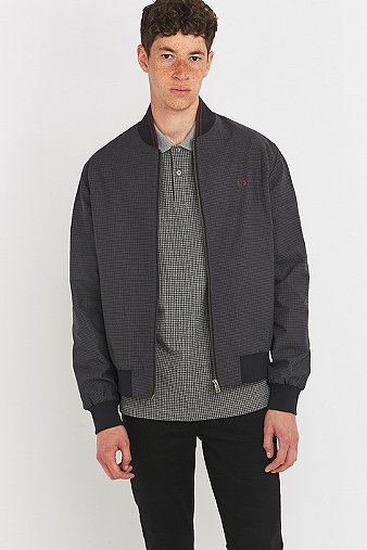 fred-perry-houndstooth-bomber-jacket-mens-s