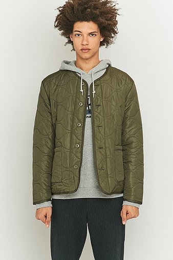 stussy-quilted-olive-military-jacket-mens-m