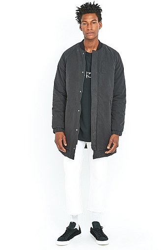 loom-kurt-black-longline-bomber-jacket-mens-m