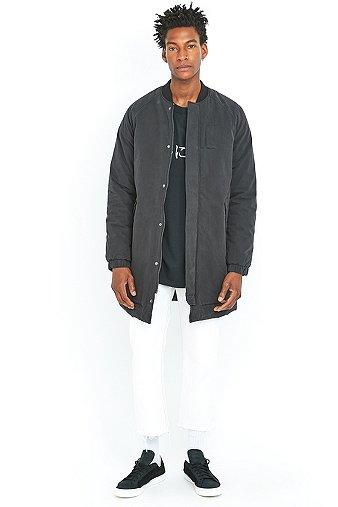 loom-kurt-black-longline-bomber-jacket-mens-m