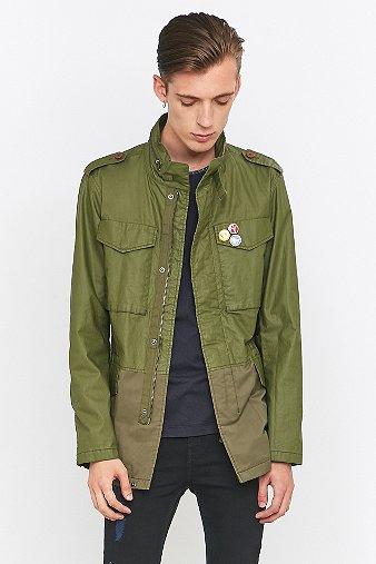 pretty-green-jetson-khaki-jacket-mens-m