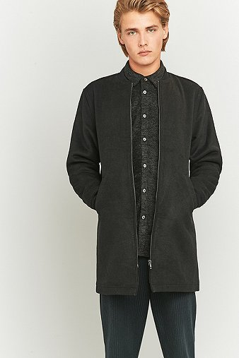 native-north-black-wool-longline-bomber-jacket-mens-m
