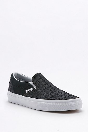 vans-classic-checked-black-suede-slip-on-trainers-womens-8