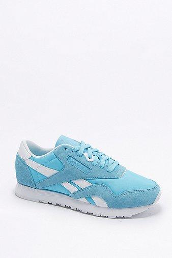 reebok-classic-blue-nylon-trainers-womens-5