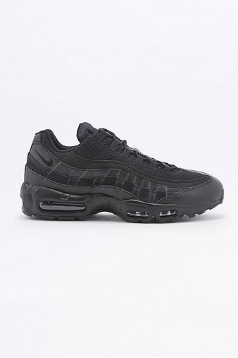 Nike Air Max 95 Essential Black Trainers Black