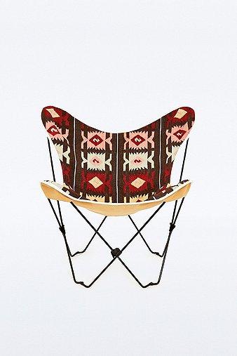 Image du produit Housse à motif géométrique pour chaise papillon