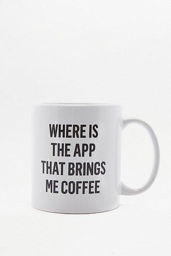 Image of Coffee App Mug, White