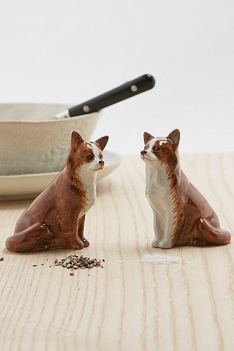 Image of Chihuahua Salt and Pepper Shaker Set, Assorted