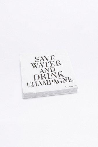Image du produit Serviettes en papier Champagne