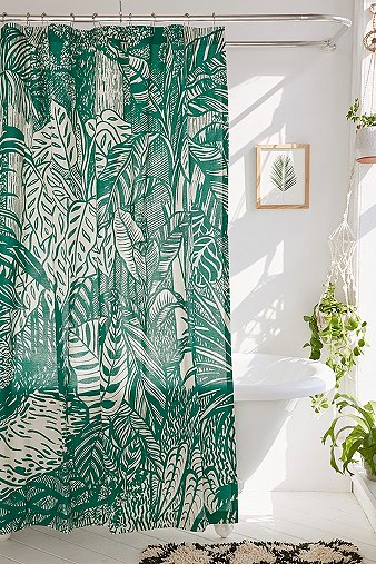 saskia-pomeroy-plants-shower-curtain