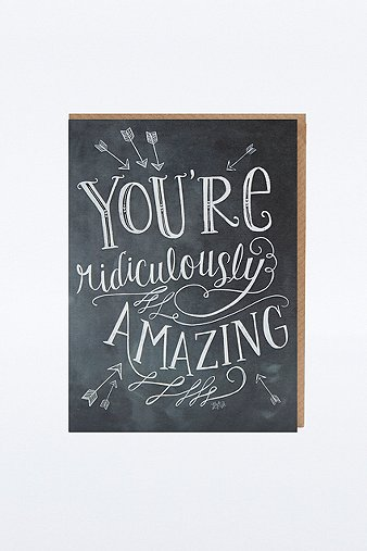 youre-ridiculously-amazing-card
