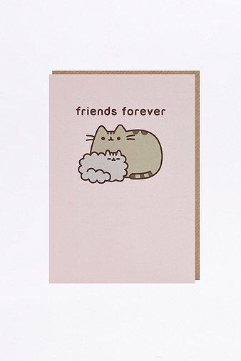 pusheen-friends-forever-card