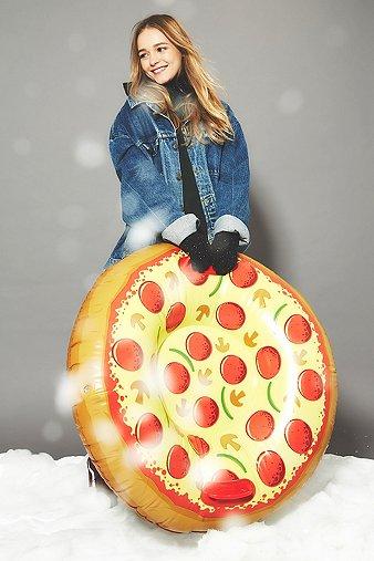 pizza-snow-tube